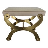 Image of 1970's Ali Baba Designer Brass Bench For Sale