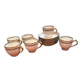 Haviland France Limoges Demitasse Cups - Set of 6 For Sale