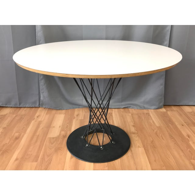 Mid-Century Modern 1990s Mid-Century Modern Noguchi Cyclone Dining Table For Sale - Image 3 of 11