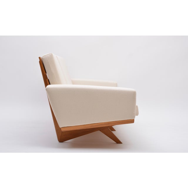Oak Sofa by Georg Thams for as Vejen Polstermøbelfabrik, 1964 For Sale - Image 9 of 12