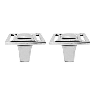 Addison Weeks Evans Knob, Nickel - a Pair For Sale