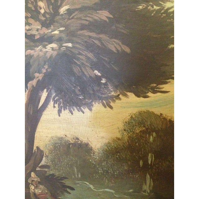 19th Century Italian Landscapes - A Pair For Sale - Image 4 of 9