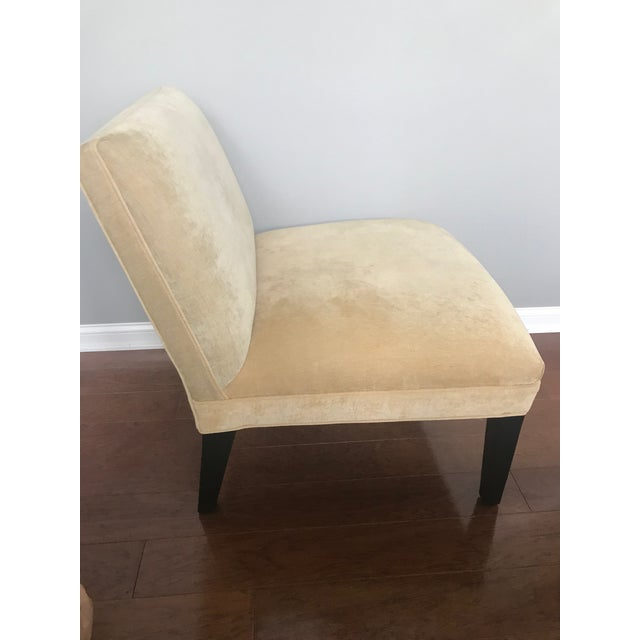 Modern Modern Mitchell Gold + Bob Williams Slipper Armless Accent Chair For Sale - Image 3 of 7