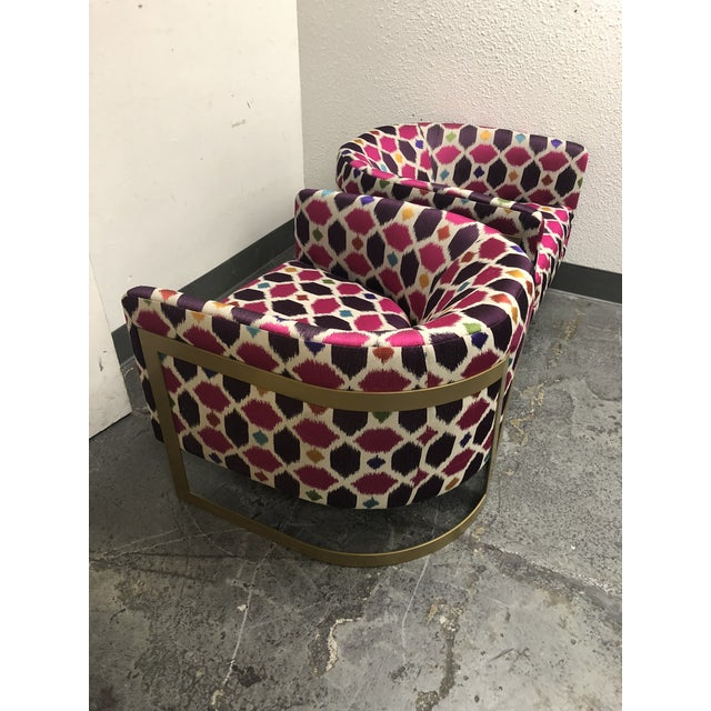 Nathan Anthony Korz Chair by Tina Nicole + Kravet Fabric - a Pair For Sale - Image 10 of 13