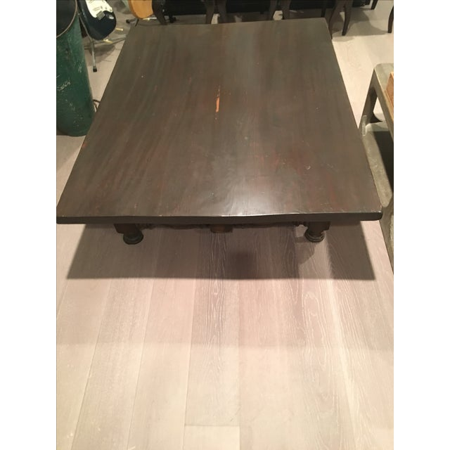 Low Spindle Leg Coffee Table - Image 5 of 6
