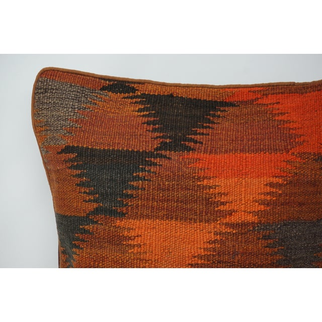 Decorative Kilim Pillow Cover / Case from up-cycled Old Vintage Kilim rugs. Pillow Insert is NOT included. The back is...