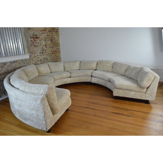 1960s Amazing Milo Baughman Mid Century Modern Sectional Pit Sofa For Sale - Image 5 of 10