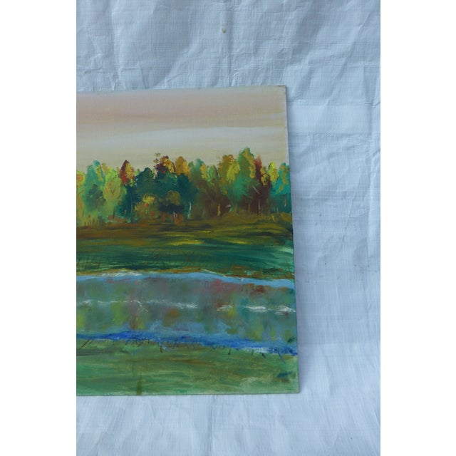 Tree Reflection Painting by H.L. Musgrave - Image 5 of 6