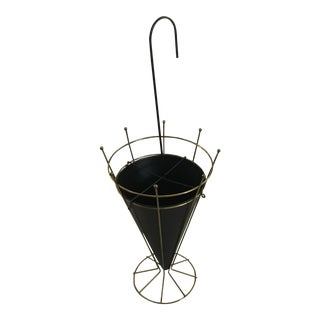 Vintage Metal Umbrella Stand
