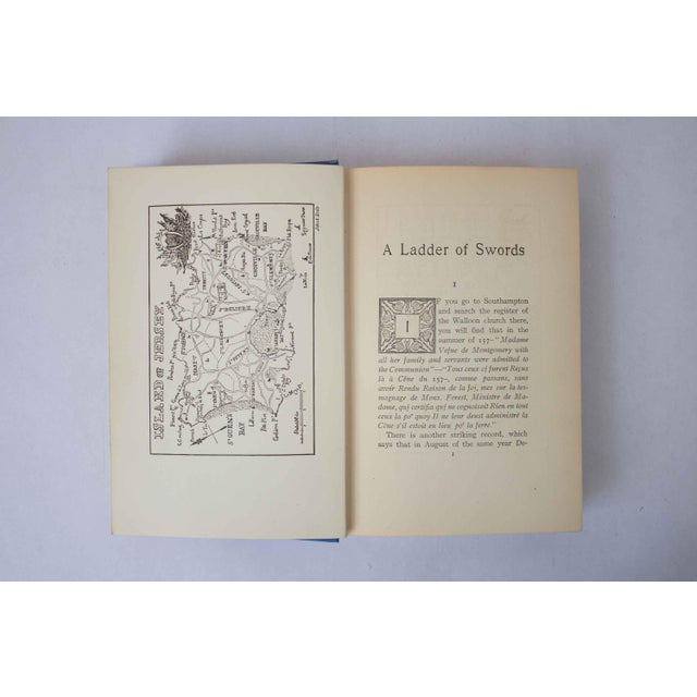 Shabby Chic 1904 Antique Book, Ladder of Swords For Sale - Image 3 of 8