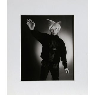 "1989 Christopher Makos ""Modelling"" Warhol: Ten Images Photograph For Sale"