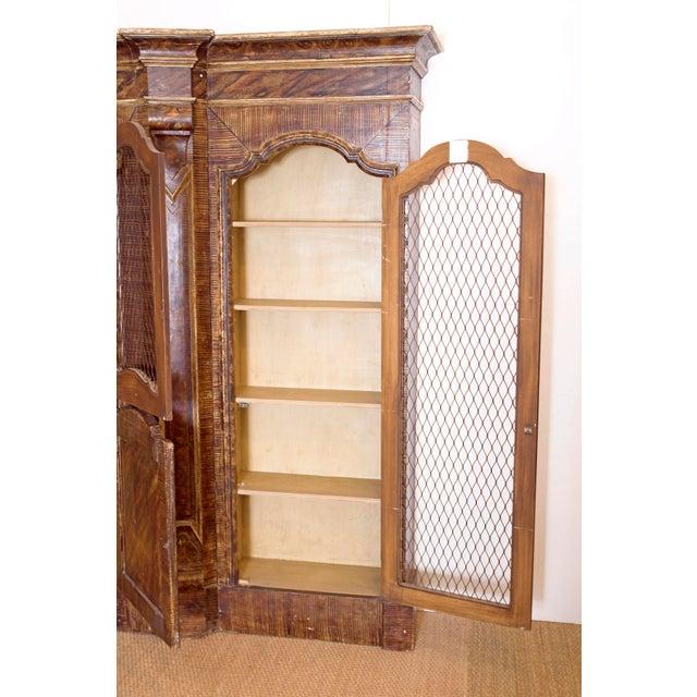 Mid-19th Century Italian Rococo Style Bookcase For Sale - Image 11 of 13