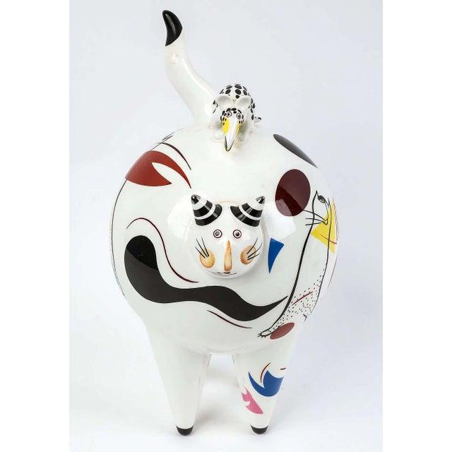 "Villeroy & Boch Villeroy & Boch ""Fat Cat"" Figurine For Sale - Image 4 of 4"