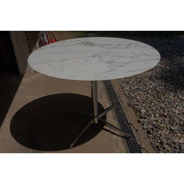 Florence Knoll Marble Table - Image 2 of 8