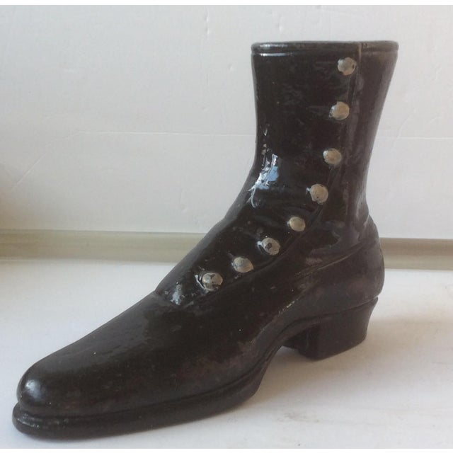 Cast Iron Victorian Mercantile Display Boot For Sale - Image 7 of 10