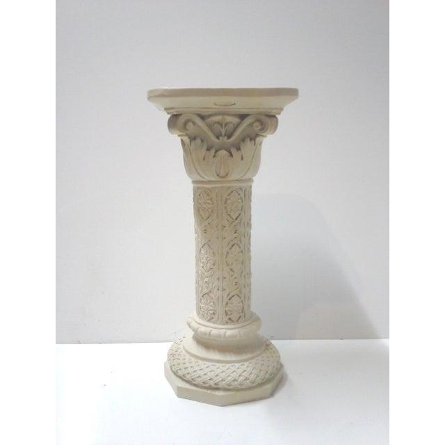 Vintage Acanthus Leaf Pedestal Plant Stand - Image 2 of 6