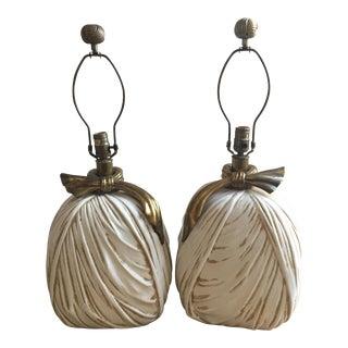 Chapman Hollywood Regency Lamps - A Pair