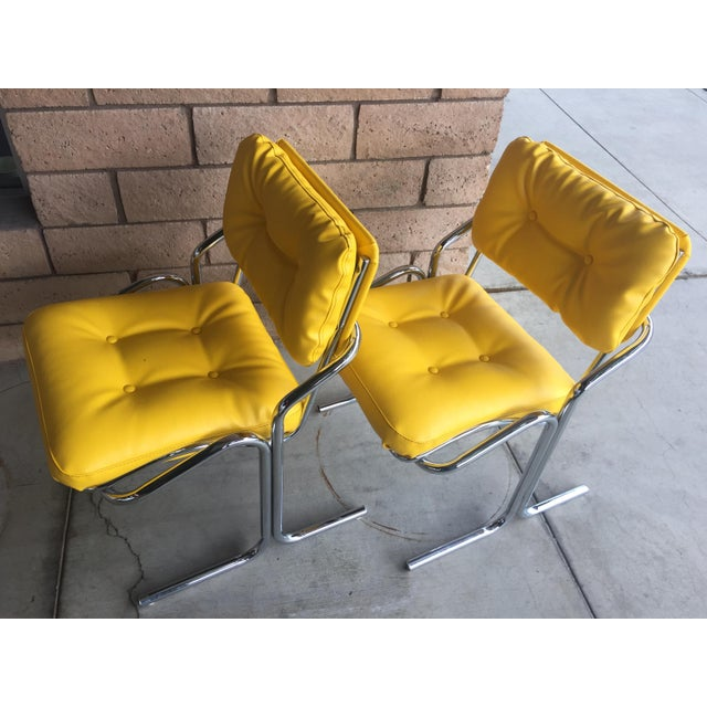"Jerry Johnson Vintage Mid Century Jerry Johnson ""Arcadia"" Chairs - a Pair For Sale - Image 4 of 6"