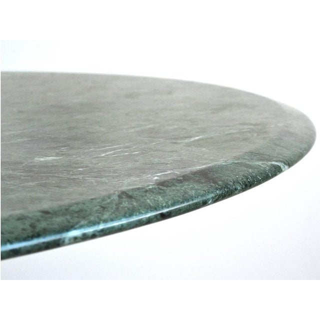 1960s Nicos Zographos Table with Marble Top For Sale - Image 5 of 8