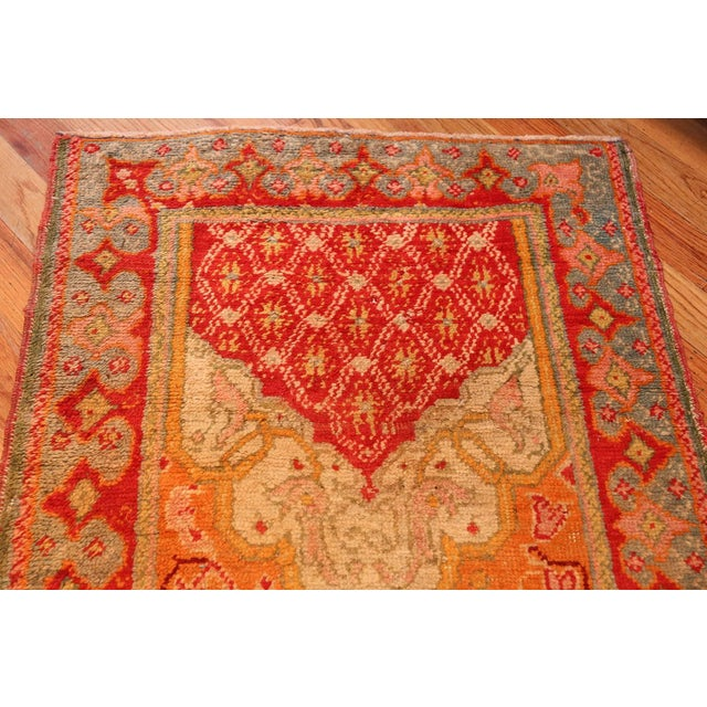 Arts & Crafts Antique Arts and Crafts Turkish Oushak Runner Rug - 2′10″ × 26′ For Sale - Image 3 of 10