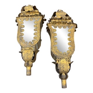 Late 19th Century Spanish Processional Lanterns - a Pair For Sale