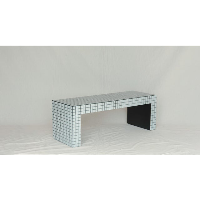 Superstudio Superstudio Origin Collection 2020 Ashen White Bench For Sale - Image 4 of 5