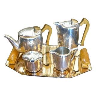 Original English Coffee/Tea Service For Sale