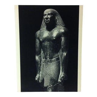 """Circa 1970 """"Mentuemhet"""" Xxvth Dynasty Great Sculpture of Ancient Egypt Print For Sale"""