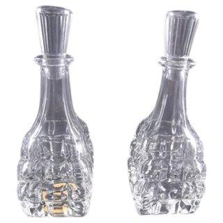 Art Deco Czech Perfume Bottles - A Pair For Sale