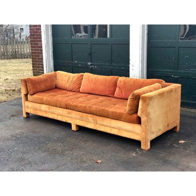 Mid-Century Modern Vintage Mid Century Erwin Lambeth Sofa For Sale - Image 3 of 13
