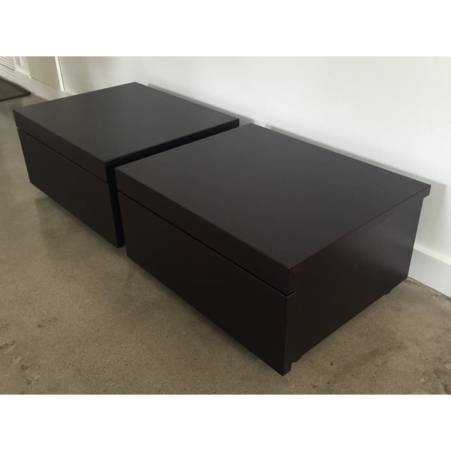 Poliform Abbinabili Attri. Nightstands - A Pair - Image 5 of 11