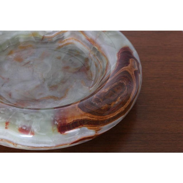 Large Onyx Bowl by Sergio Asti - Image 7 of 10