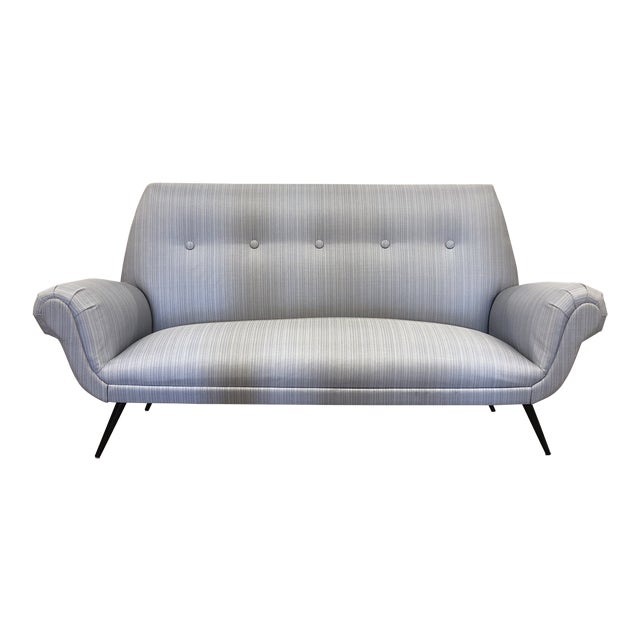 Midcentury Settee For Sale