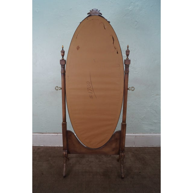 Vintage French Louis XV Style Chevelle Mirror - Image 3 of 10