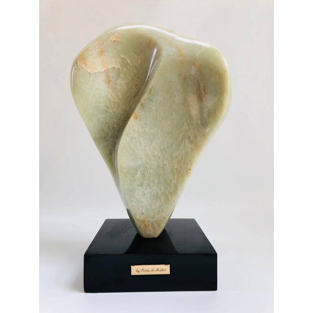 Noguchi Inspired Mid-Century Modern Abstract Biomorphic Marble Sculpture For Sale - Image 12 of 12