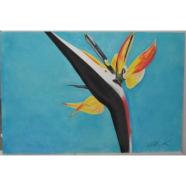 Bird of Paradise Pastel Painting by Max - Image 2 of 4