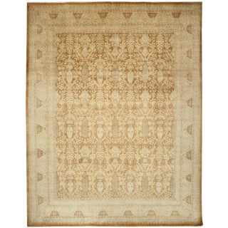 """Turkish Oushak Hand-Knotted Wool Rug - 8'4"""" X 10'3"""""""