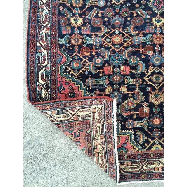 """Antique Persian Rug - 4'1"""" x 6'10"""" - Image 5 of 8"""