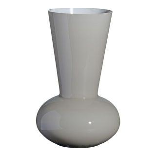 Carlo Moretti Troncosfera Vase in Grey For Sale