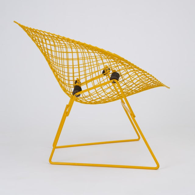 Rocking Diamond Chair by Harry Bertoia For Sale - Image 10 of 12