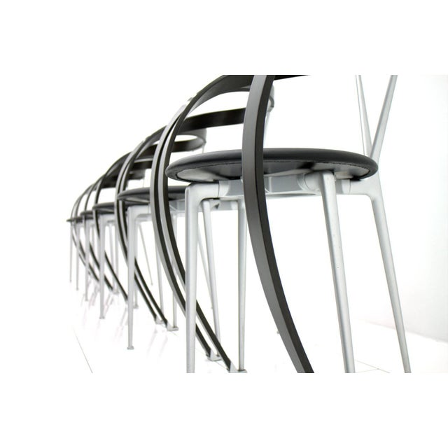 Modern Set of Six Revers Chairs, Andrea Branzi for Cassina, 1993 For Sale - Image 3 of 10