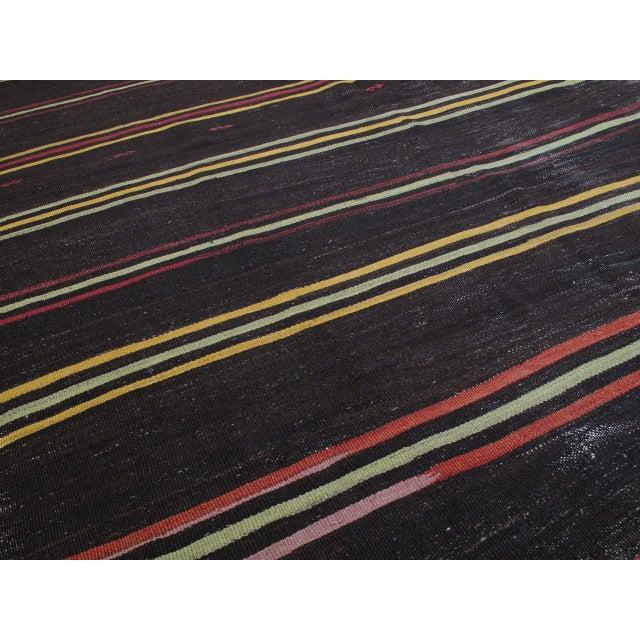 "Striped Kilim, ""Adil"" For Sale - Image 10 of 10"