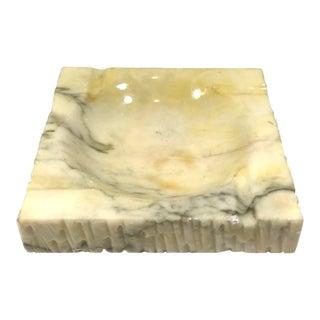 Vintage Mid-Century Stone Ashtray For Sale