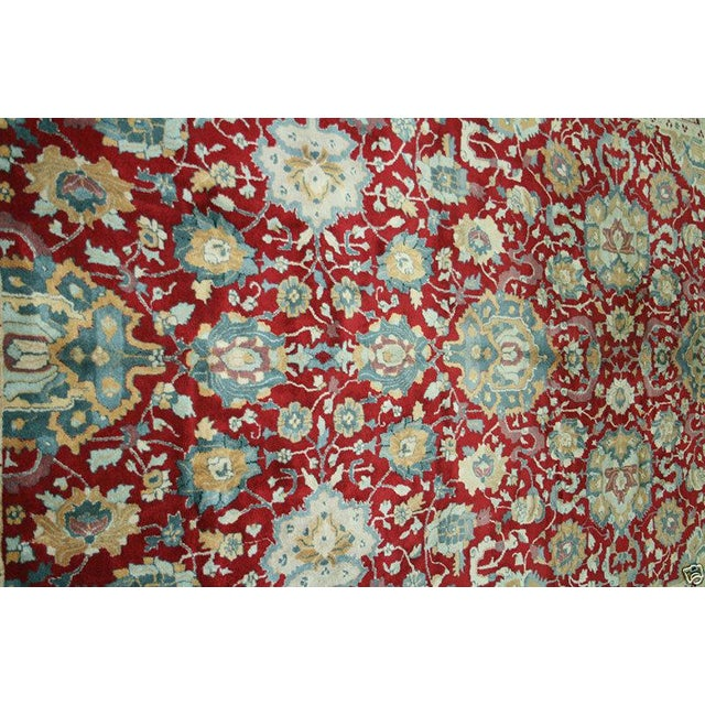 1930s 1930s Vintage German Persian Sultanabad Design Rug - 8′8″ × 18′ For Sale - Image 5 of 7
