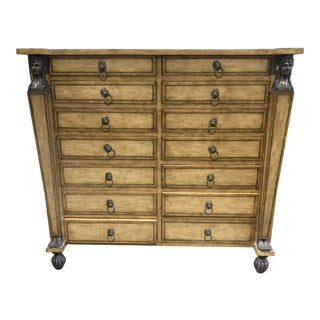 Kreiss Collectors Chest of Drawers For Sale