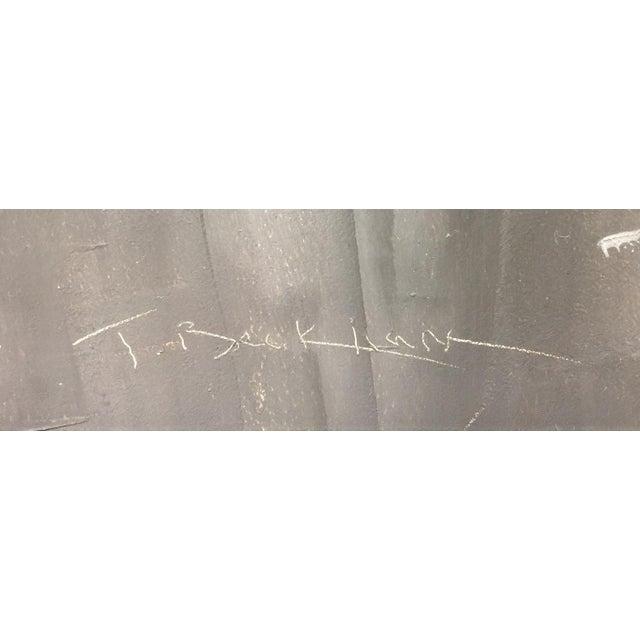 "Trish Beckham Beckham Contemporary Framed New York City Scene""Grand Street"" For Sale - Image 4 of 7"