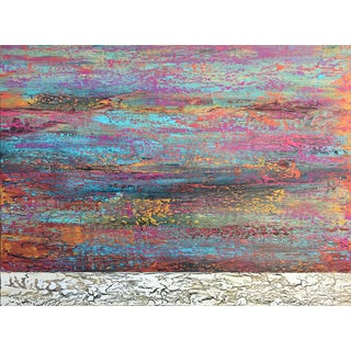 Vibrant Contemporary Abstract Painting For Sale