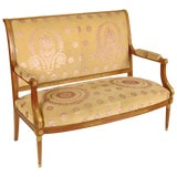 Image of Empire Style Settee For Sale