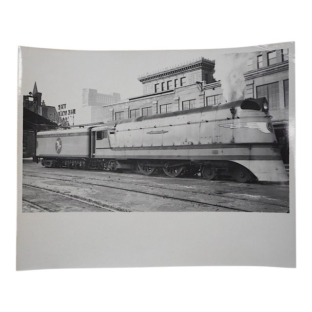 Vintage Railroad Locomotive Photo - Image 1 of 3
