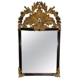 Large 19th Century Belle Époque Gilt Mirror For Sale